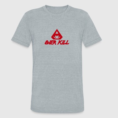 Overkill New Design OVERKILL Best Seller - Unisex Tri-Blend T-Shirt