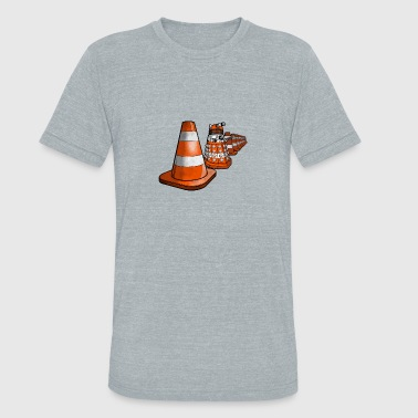 Deadly Cone - Unisex Tri-Blend T-Shirt
