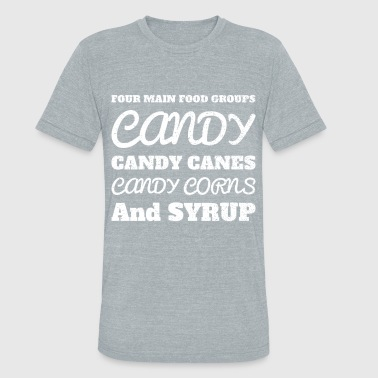 Cotton Candy Candy Candy Candy - Unisex Tri-Blend T-Shirt
