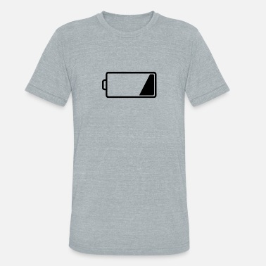 Low Battery Energy Low Battery - Unisex Tri-Blend T-Shirt