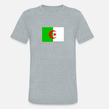 Algeria National Flag Algeria National Flag - Unisex Tri-Blend T-Shirt