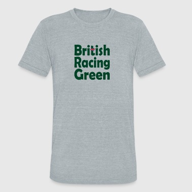 British Car British Racing Green - Unisex Tri-Blend T-Shirt