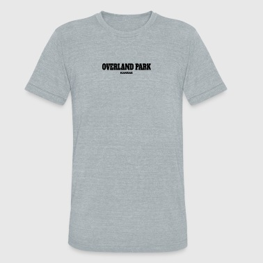 KANSAS OVERLAND PARK US EDITION - Unisex Tri-Blend T-Shirt