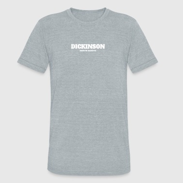 NORTH DAKOTA DICKINSON US EDITION - Unisex Tri-Blend T-Shirt