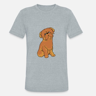 Brussels Griffon Dog Brussels Griffon Dog - Unisex Tri-Blend T-Shirt