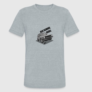 Old School Car Old school rebel car - Unisex Tri-Blend T-Shirt