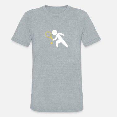 Ana Ivanovic A Tennis Player Plays The Ball - Unisex Tri-Blend T-Shirt