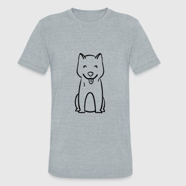Dog - Dog breed - Unisex Tri-Blend T-Shirt