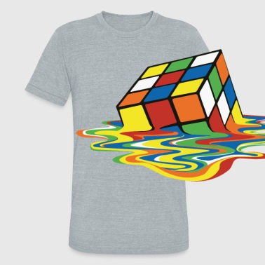 meltingcube - Unisex Tri-Blend T-Shirt