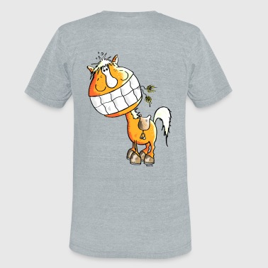 Laughing Horse - Horses - Unisex Tri-Blend T-Shirt