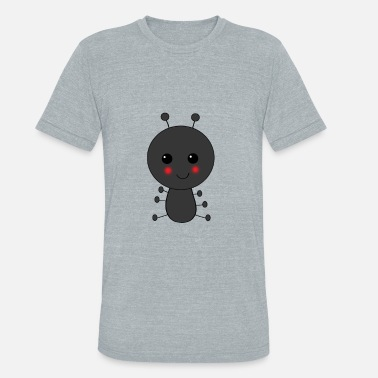 Bug Ant Ant Ants Insects Insect Bug Cut Cartoon Gift - Unisex Tri-Blend T-Shirt