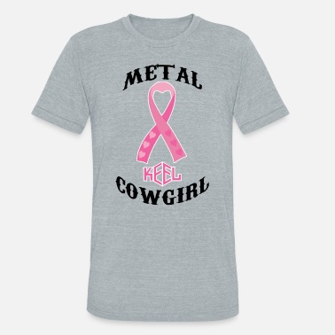 Renee Metal Cowgirl - Unisex Tri-Blend T-Shirt