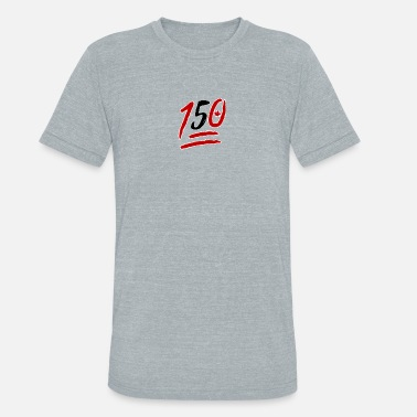 150 Happy Birthday Canada 150 T - Unisex Tri-Blend T-Shirt