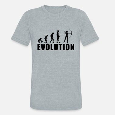 Archery Kids EVOLUTION ARCHERY / FOR WOMAN, MAN AND KIDS - Unisex Tri-Blend T-Shirt
