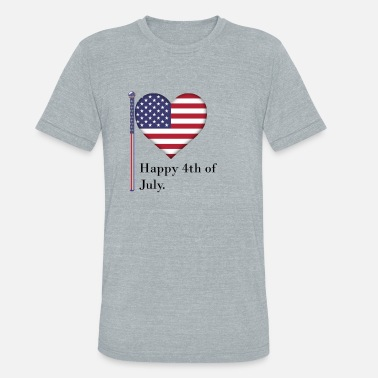 Independence Day - Unisex Tri-Blend T-Shirt