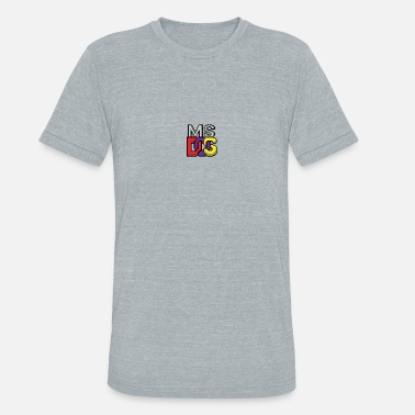 Ms Dos MS DOS Prompt logo - Unisex Tri-Blend T-Shirt