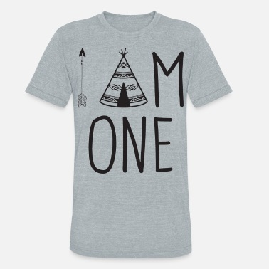 I am One Wild One Birthday Outfit Wild One Shirt 1 - Unisex Tri-Blend T-Shirt