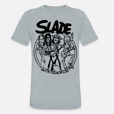 139bade1 70s Retro Cartoon SLADE BAND GLAM HARD ROCK 70s RETRO CARTOON VINTAG -  Unisex Tri-