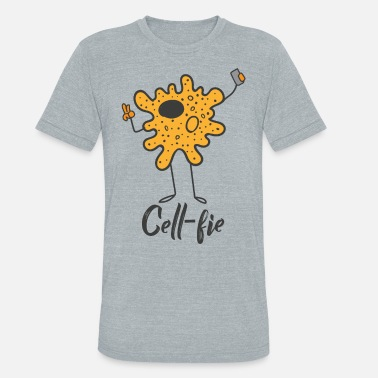 Cell Cell-Fie the cell with camera - Unisex Tri-Blend T-Shirt