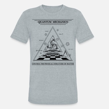 Surrealism Quantum Mechanics - Surreal - Unisex Tri-Blend T-Shirt