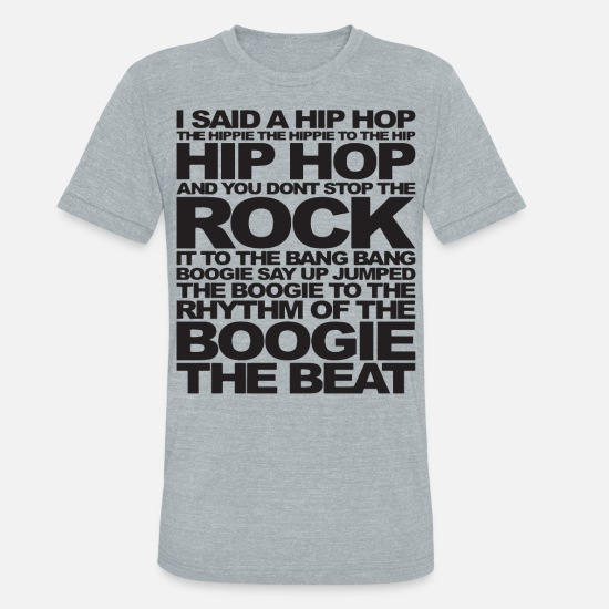 Hip Hop T-Shirt Rap Music Trippin White T-Shirt
