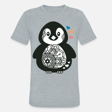 Antarctica bear, antarctica, teddy bear, stuffed animal - Unisex Tri-Blend T-Shirt