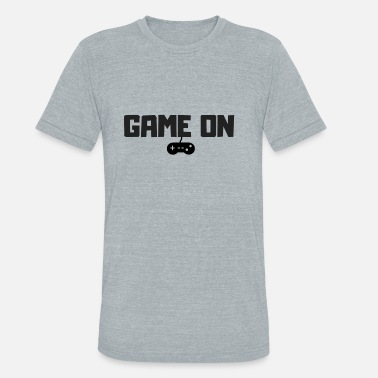Unspeakable Gaming GAME ON - Unisex Tri-Blend T-Shirt