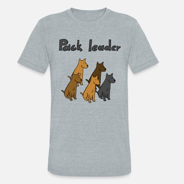 Pack Leader Pack leader - Unisex Tri-Blend T-Shirt