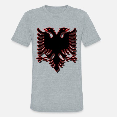 Double Headed Eagle Double-headed eagle / for woman, man and kids - Unisex Tri-Blend T-Shirt