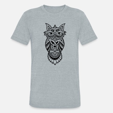 Nocturnal Owl The Nocturnal - Unisex Tri-Blend T-Shirt