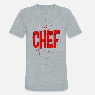 Chef Joke Chef - Unisex Tri-Blend T-Shirt