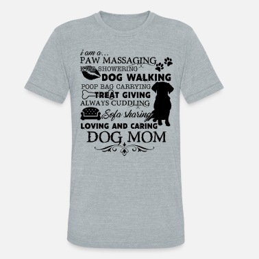 Dog Day Care Paw Loving And Caring Dog Mom Shirt - Unisex Tri-Blend T-Shirt