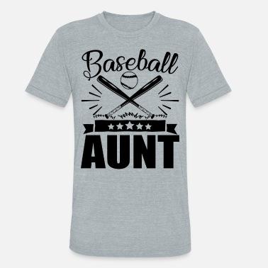 f0a63908 Baseball Aunt Baseball Aunt Shirt - Unisex Tri-Blend T-Shirt