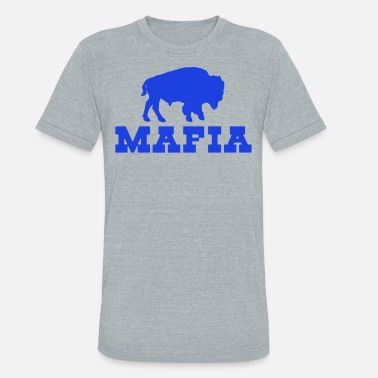 Mafia Symbol Bills Mafia - Unisex Tri-Blend T-Shirt