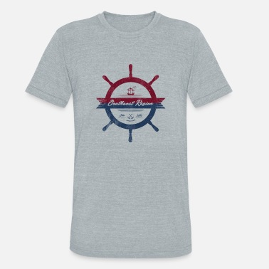 Captain Skipper Skipper - Unisex Tri-Blend T-Shirt