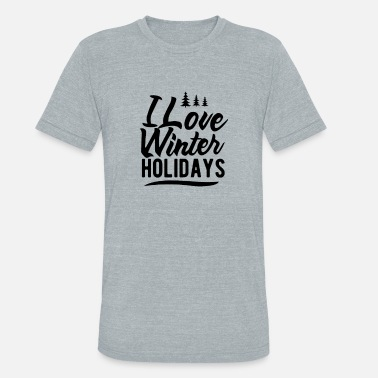 Winter Vacation Winter Vacation - Unisex Tri-Blend T-Shirt
