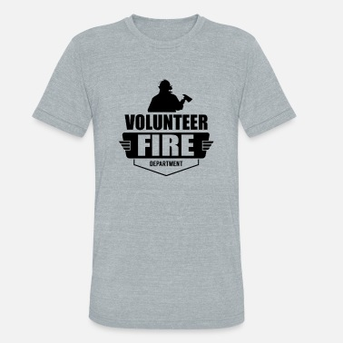Volunteer Fire Department Volunteer Fire Department - Unisex Tri-Blend T-Shirt