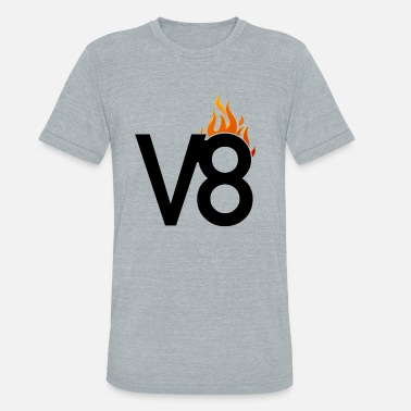 V8 Power V8 Power Sound - Unisex Tri-Blend T-Shirt
