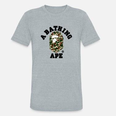 0aaa542b Bathing Ape BAPE A BATHING APE - Unisex Tri-Blend T-Shirt