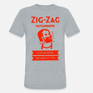 Zig Zag Zig Zag Rolling Papers - Unisex Tri-Blend T-Shirt