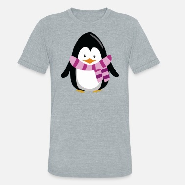 Freezing Penguin Freezing - Unisex Tri-Blend T-Shirt