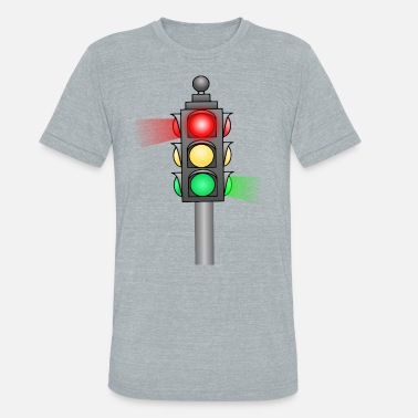Traffic Light Traffic Light - Unisex Tri-Blend T-Shirt
