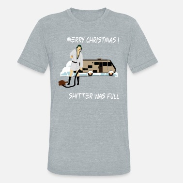 19799e270 National Lampoons Christmas Christmas Movie Gift Griswold National Lampoon  - Unisex Tri-Blend T-