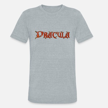 Bram Count Dracula - The Ultimate Vampire - The Undead - Unisex Tri-Blend T-Shirt