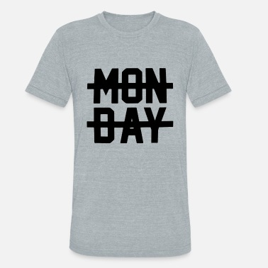 Monday Crossed Out Monday Crossed Out Top Ni all Horan I Hate Sucks F - Unisex Tri-Blend T-Shirt