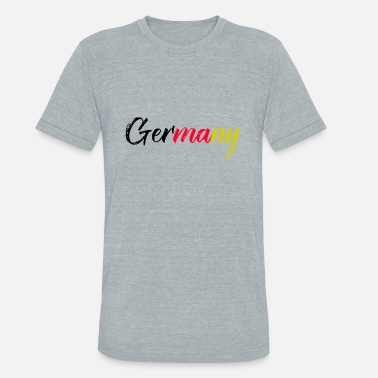 Germany Soccer Germany WC Soccer Soccer german - Unisex Tri-Blend T-Shirt