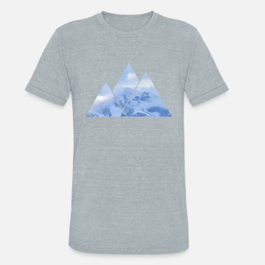Mountaineer Mountains in Mountains - Unisex Tri-Blend T-Shirt
