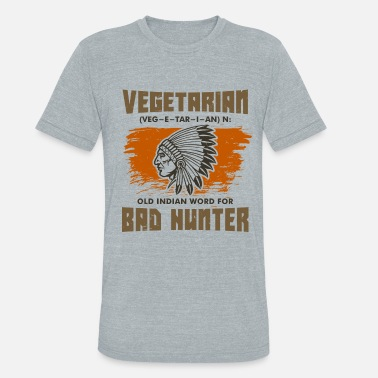 ANTI-VEGAN - Unisex Tri-Blend T-Shirt