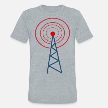 Radio Tower radio tower - Unisex Tri-Blend T-Shirt