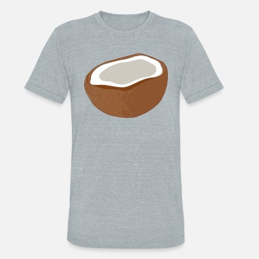 Coconut Beach coconut - Unisex Tri-Blend T-Shirt